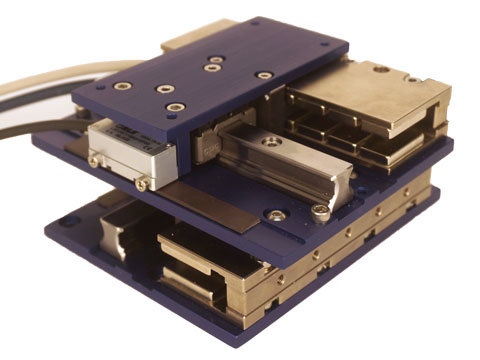 image of Miniature XY Brushless Linear Motor Gantry Stage
