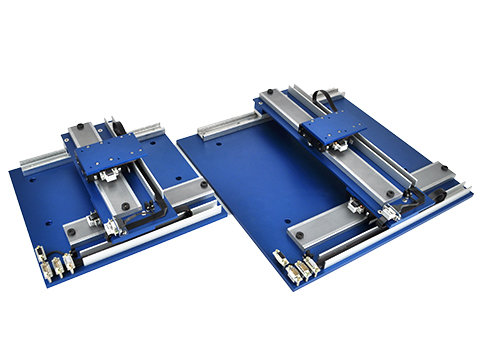 image of Linear Stepper Stages, a type of linear motor