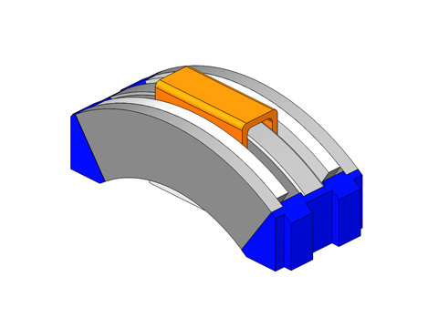 image of Rotary Voice Coil Actuators, a type of linear motor