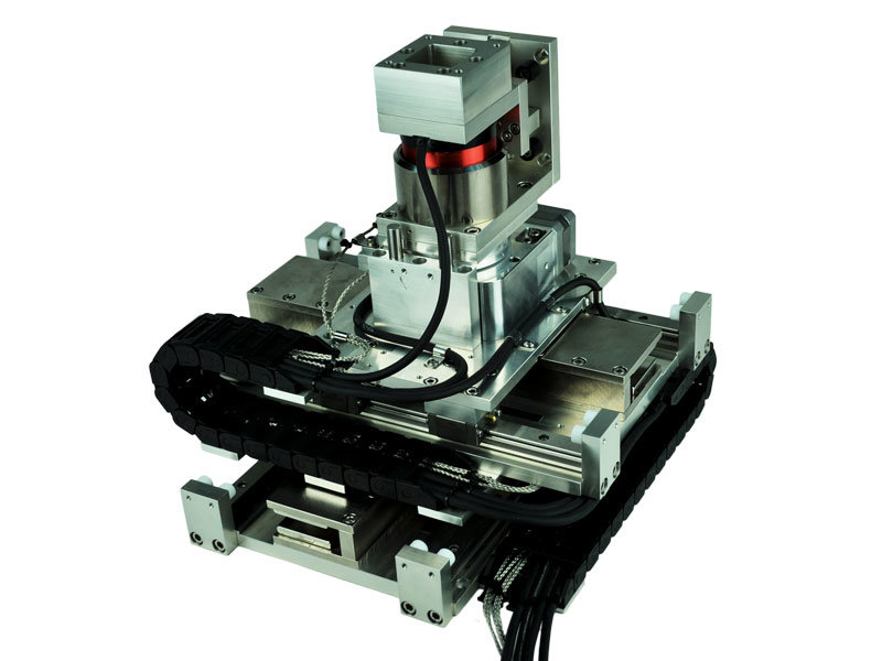 image of Four Axis Vacuum Compatible Gantry Stage
