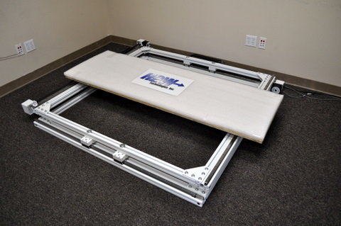 image of XY Extrusion Open Frame Belt Stage