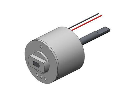 Limited angle torque motor tmr 010 002 2h h2w technologies for Limited angle torque motor