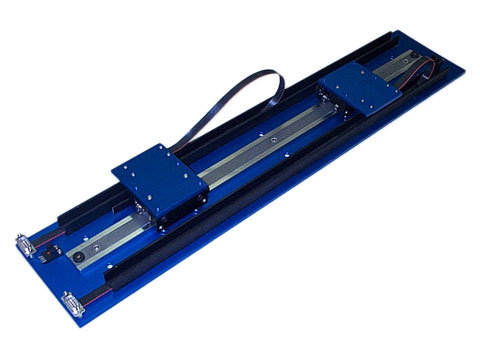 Dual Linear Stepper Motor Positioning Stage - Motion Control - H2W
