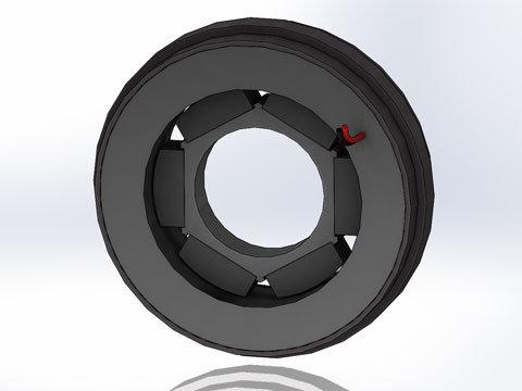 Limited Angle Torque Motor Tmr 016 16 007 6 H2w Technologies