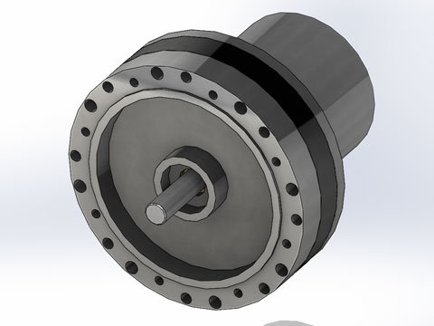 Limited Angle Torque Motor Limited Rotation Motor Limited Rotary Actuator H2w Technologies